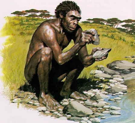 hombre prehistórico
