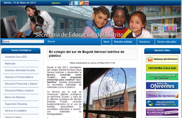 SED BOGOTA Y EL CLUB
