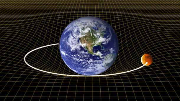 Resultado de imagen para la gravedad dobladura del espacio