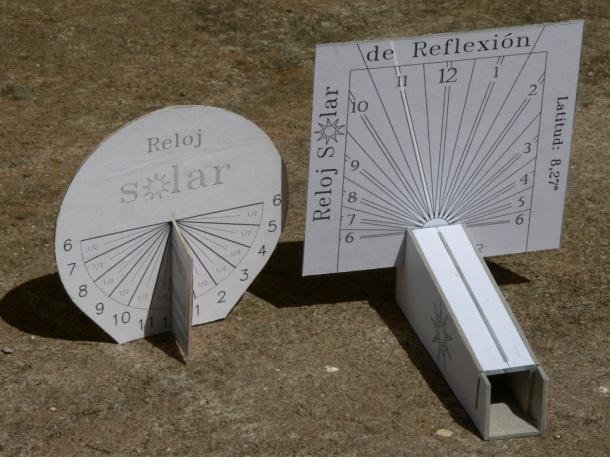 Resultado de imagen para relojes de sol maquetas